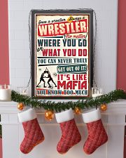 Christmas Special - Wrestler 11x17 Poster lifestyle-holiday-poster-4