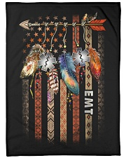 "Emt Large Fleece Blanket - 60"" x 80"" front"