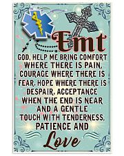 EMT Prayer  11x17 Poster front