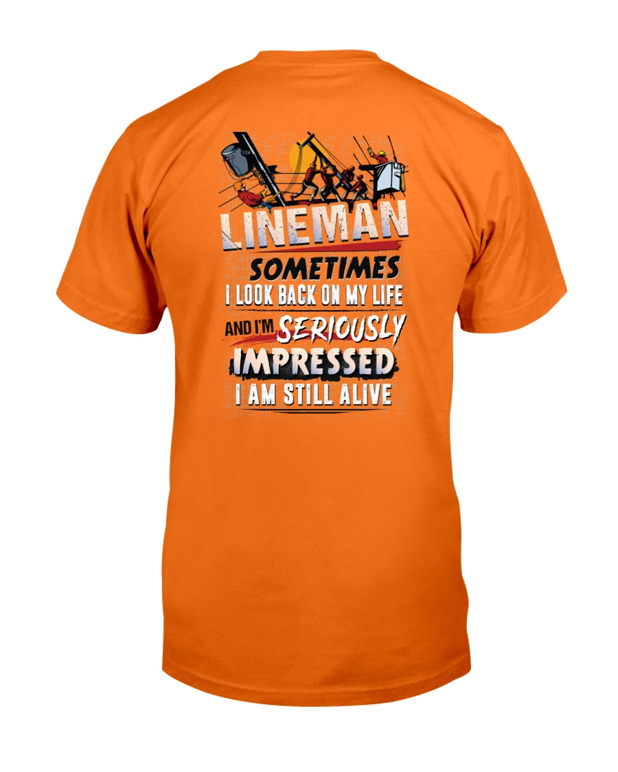 Lineman - Seriously Impressed Classic T-Shirt