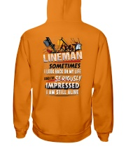 Lineman - Seriously Impressed Hooded Sweatshirt thumbnail