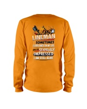 Lineman - Seriously Impressed Long Sleeve Tee thumbnail
