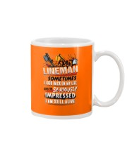 Lineman - Seriously Impressed Mug thumbnail