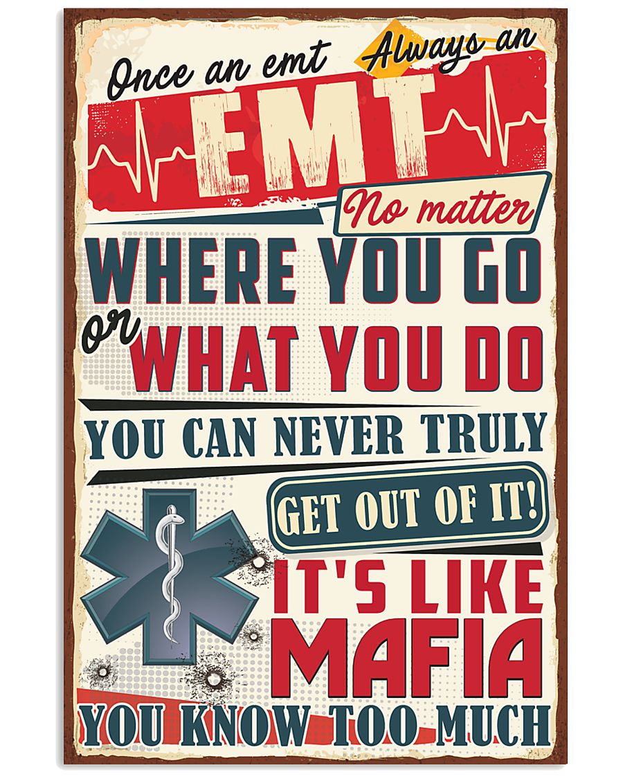 Truly Emt 11x17 Poster