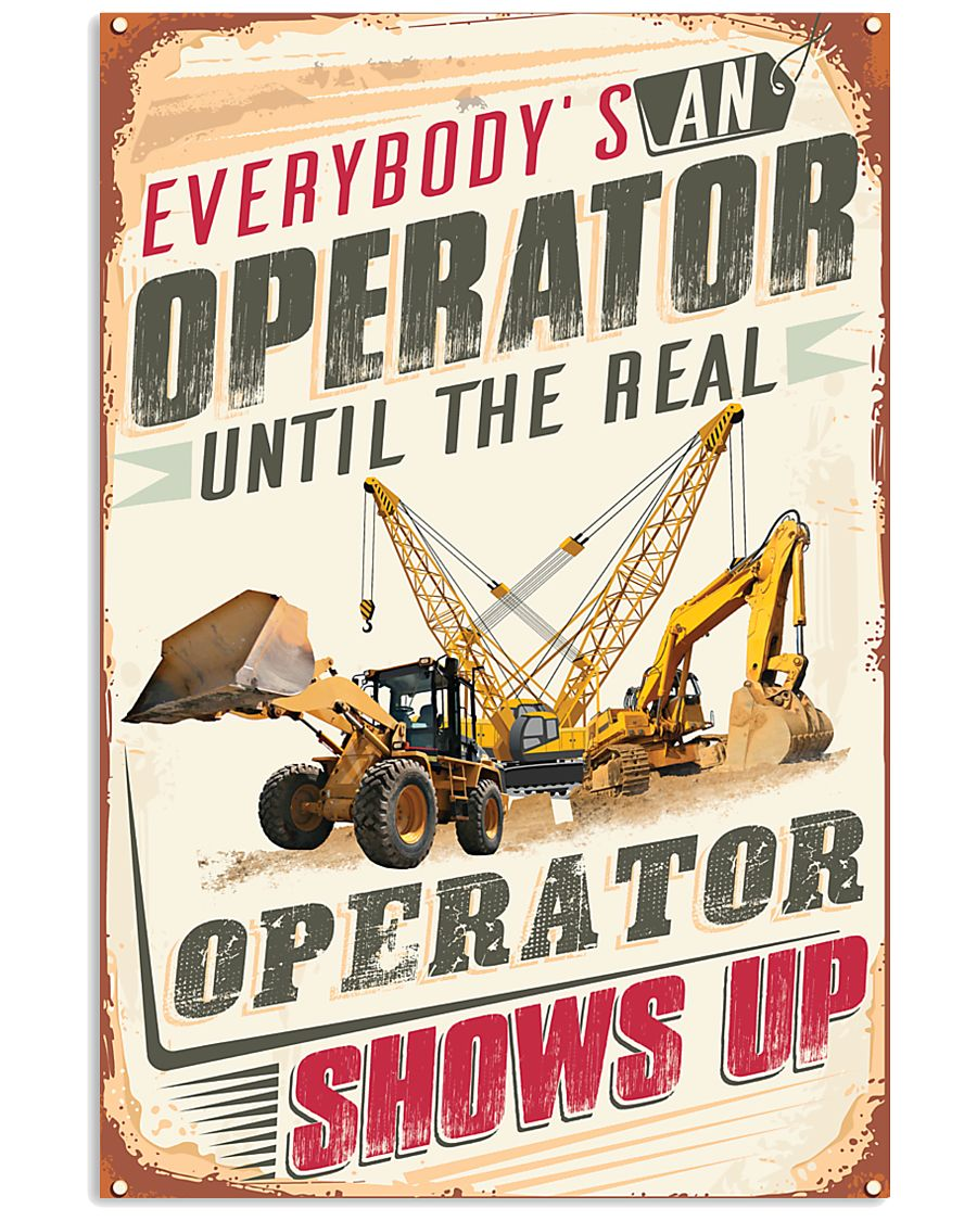 Awesome Operator's  11x17 Poster