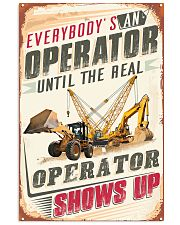 Awesome Operator's  11x17 Poster front