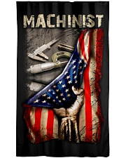 Machinist USA Flag Window Curtain - Blackout front