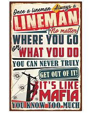 Truly Lineman 11x17 Poster front