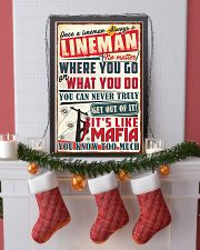 Truly Lineman 11x17 Poster lifestyle-holiday-poster-4