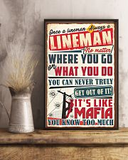 Truly Lineman 11x17 Poster lifestyle-poster-3