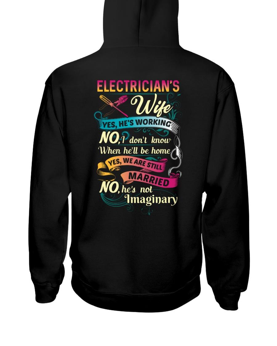Cute Electrician's Lady Hoodie Hooded Sweatshirt