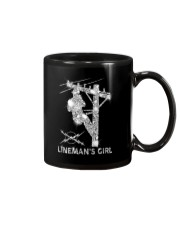 Proud Lineman's Girl Crystal Effect Mug thumbnail