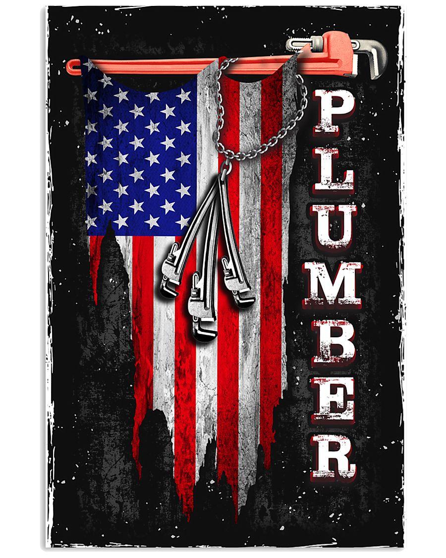 Proud Plumber 11x17 Poster
