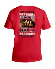 Real Mechanic Shows Up - Shirt and Hoodie  V-Neck T-Shirt thumbnail