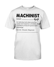 Proud machinist Classic T-Shirt thumbnail