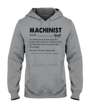 Proud machinist Hooded Sweatshirt thumbnail