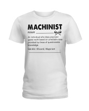 Proud machinist Ladies T-Shirt tile