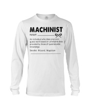 Proud machinist Long Sleeve Tee tile