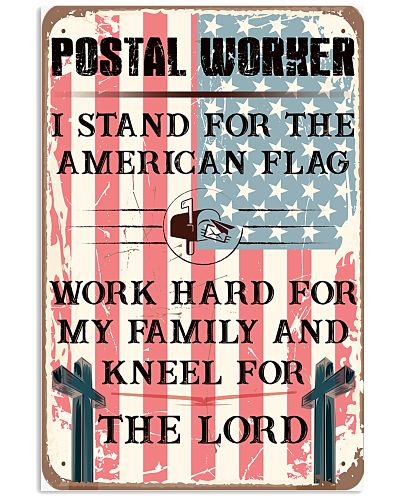 Proud Postal Worker's Canvas and Posters