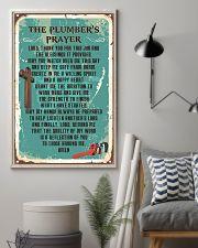 Plumber Prayer 11x17 Poster lifestyle-poster-1