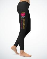Cute Electrician's Ladies Leggings lifestyle-leggings-right-1