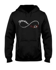 Dispatcher Infinity Loop Hooded Sweatshirt front