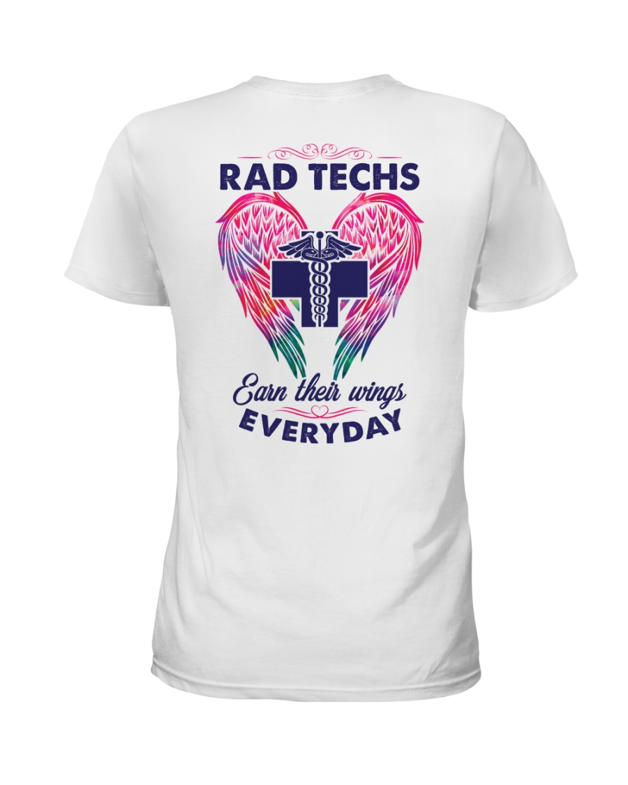 Rad Tech Earn Their Wings Everyday Ladies T-Shirt