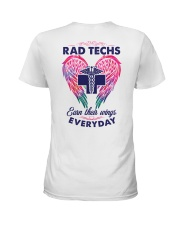 Rad Tech Earn Their Wings Everyday Ladies T-Shirt back
