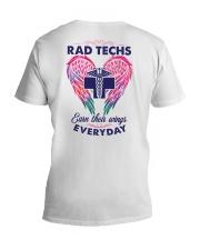 Rad Tech Earn Their Wings Everyday V-Neck T-Shirt thumbnail