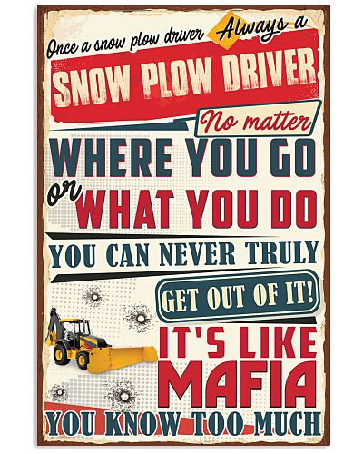 Truly Snow Plow Driver