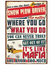 Truly Snow Plow Driver  11x17 Poster front