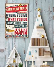 Truly Snow Plow Driver  11x17 Poster lifestyle-holiday-poster-2