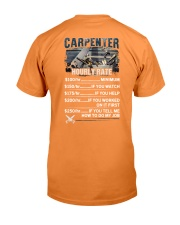 Carpenter Hourly Rate Shirt and Hoodie  Premium Fit Mens Tee thumbnail