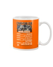 Carpenter Hourly Rate Shirt and Hoodie  Mug thumbnail