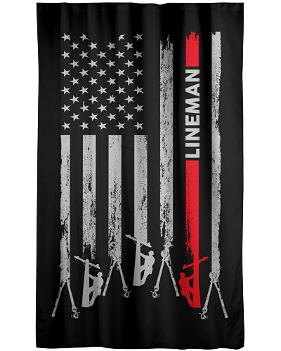 Lineman USA Flag