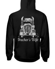 Proud Trucker's Wife Crystal Effect Hooded Sweatshirt thumbnail