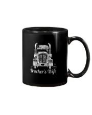 Proud Trucker's Wife Crystal Effect Mug thumbnail