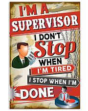 Awesome Supervisor's Canvas and Posters 11x17 Poster front