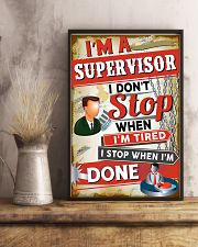 Awesome Supervisor's Canvas and Posters 11x17 Poster lifestyle-poster-3