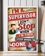Awesome Supervisor's Canvas and Posters 11x17 Poster lifestyle-poster-4
