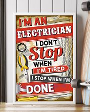 Awesome Electrician's Canvas and Posters 11x17 Poster lifestyle-poster-4