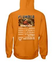 Plumber Hourly Rate Shirt and Hoodie  Hooded Sweatshirt thumbnail