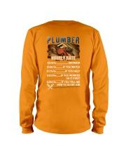 Plumber Hourly Rate Shirt and Hoodie  Long Sleeve Tee thumbnail