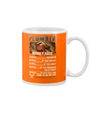 Plumber Hourly Rate Shirt and Hoodie  Mug thumbnail