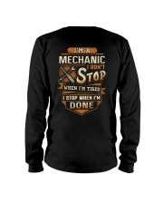 Mechanic - I Stop when I'm done Long Sleeve Tee thumbnail