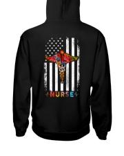 American Flag Nurse  Hooded Sweatshirt thumbnail