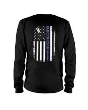 Electrician American Flag  Long Sleeve Tee thumbnail