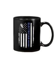 Electrician American Flag  Mug thumbnail
