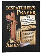 """Dispatcher's Prayer Large Fleece Blanket - 60"""" x 80"""" front"""