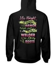 My Welder In Dirty Boots Hooded Sweatshirt tile